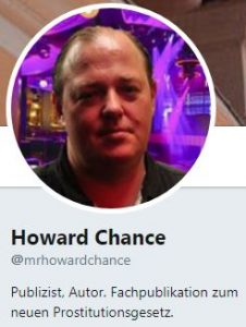 Howard Chance bei Twitter